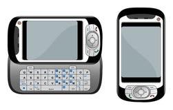 Illustrazione di vettore del telefono di PDA Fotografia Stock