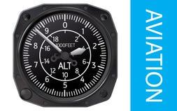 Illustrazione di vettore dell'altimetro Fotografia Stock Libera da Diritti