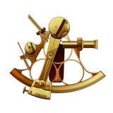 Illustrazione di vettore dell'astrolabio Fotografia Stock