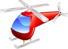 Illustrazione di vettore dell'elicottero Fotografia Stock