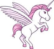 Illustrazione di vettore dell'unicorno Immagini Stock Libere da Diritti