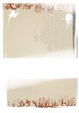 Illustrazione di vettore della carta da parati beige Immagine Stock