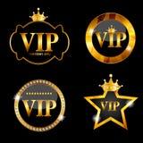 Illustrazione di vettore della carta dei membri di VIP Immagine Stock