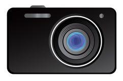 Illustrazione di vettore della macchina fotografica digitale classica Fotografia Stock Libera da Diritti