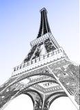 Illustrazione di vettore della torre Eiffel illustrazione vettoriale