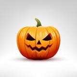Illustrazione di vettore della zucca di Halloween Immagine Stock Libera da Diritti