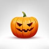 Illustrazione di vettore della zucca di Halloween Immagine Stock