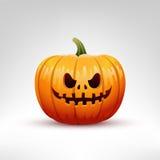Illustrazione di vettore della zucca di Halloween Fotografie Stock Libere da Diritti