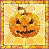 Illustrazione di vettore delle zucche di Halloween Fotografie Stock