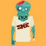 Illustrazione di vettore dello zombie del fumetto Immagine Stock