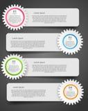 Illustrazione di vettore di affari del modello di Infographic royalty illustrazione gratis