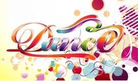 Illustrazione di vettore di ballo Fotografia Stock