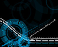 Illustrazione di vettore di concetto di tecnologia Immagine Stock