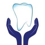 Illustrazione di vettore di cure odontoiatriche Immagini Stock Libere da Diritti