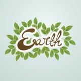 Illustrazione di vettore di giornata per la Terra Fotografie Stock Libere da Diritti