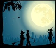 Illustrazione di vettore di Halloween illustrazione di stock