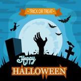 Illustrazione di vettore di Halloween Immagini Stock Libere da Diritti