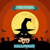 Illustrazione di vettore di Halloween Fotografia Stock