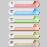 Illustrazione di vettore di Infographic può essere usato per la disposizione di flusso di lavoro, il diagramma, opzioni di numero Immagini Stock Libere da Diritti