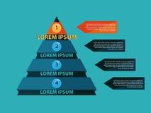 Illustrazione di vettore di Infographics di affari Fotografia Stock