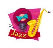 Illustrazione di vettore di jazz Immagini Stock