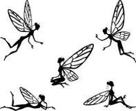 Illustrazione di vettore di piccolo fairy Fotografie Stock Libere da Diritti