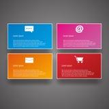 Illustrazione di vettore di stile di Infographics di affari Immagini Stock Libere da Diritti