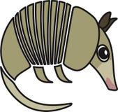Illustrazione di vettore di un armadillo Immagini Stock Libere da Diritti