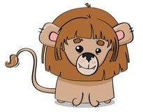 Giovane illustrazione del cucciolo di leone Fotografie Stock