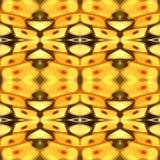 Illustrazione di vettore di un fondo chiazzato giallo Immagine Stock