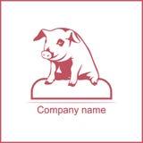Illustrazione di vettore di un maiale Immagine Stock Libera da Diritti