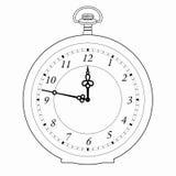 Illustrazione di vettore di vecchi orologi Immagine Stock Libera da Diritti
