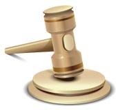 Martelletto realistico di vettore Fotografia Stock Libera da Diritti