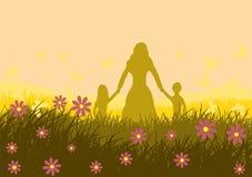 Illustrazione di vettore Illustrazione della festa della Mamma Immagine Stock