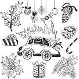 Illustrazione di vettore di natale illustrazione di stock