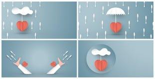 Illustrazione di vettore nel concetto di assicurazione malattia La progettazione dell'elemento del modello ? su fondo blu pastell illustrazione vettoriale