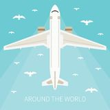 Illustrazione di vettore per industria turistica Immagine Stock