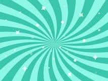 Illustrazione di vettore per progettazione di turbinio Il modello radiale di turbine stars il fondo illustrazione di stock