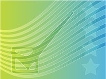 Illustrazione di voto di elezione degli S.U.A. illustrazione vettoriale