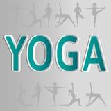 Illustrazione di yoga di vettore ENV, JPG Immagini Stock Libere da Diritti