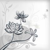 Illustrazione di zen del fiore di loto illustrazione vettoriale