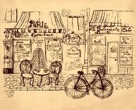 Illustrazione disegnata a mano Fotografia Stock Libera da Diritti