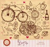 Illustrazione disegnata a mano Immagine Stock