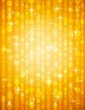 Illustrazione dorata dei brightnes adatta a christm royalty illustrazione gratis