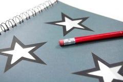 Illustrazione e matita Fotografia Stock Libera da Diritti
