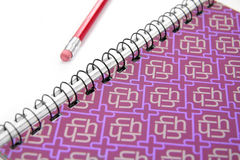 Illustrazione e matita Fotografia Stock
