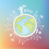 Illustrazione ecologica Royalty Illustrazione gratis