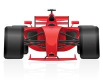 Illustrazione ENV 10 di vettore della vettura da corsa Fotografie Stock