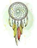 Illustrazione etnica di vettore del collettore di sogno royalty illustrazione gratis