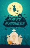Illustrazione felice di festa di Halloween illustrazione di stock